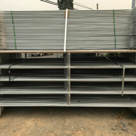 Medium Duty Galvanized Panel 12′ x 5′ (Stocked Product), $145