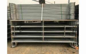 Medium Duty Galvanized Panel 12′ x 5′ (Stocked Product), $149