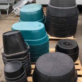 Heavy Duty Tubs & Buckets (Stocked Products)