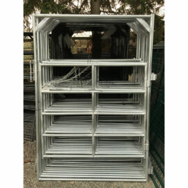 Medium Duty Galvanized Frame Gate 5′ (Stocked Product), $170