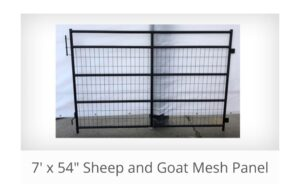 Mesh Panel 7′ x 54″ (Stocked Product), $99
