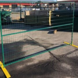 Heavy Duty 60lb Temporary Fence Panel 9.5′ x 6′ (Ordered Product), $119