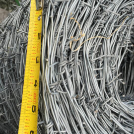 Double Strand Barbed Wire 1320′ Roll (Stocked Product), $79