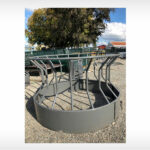 Round Bale Funnel Feeder (Stocked Product), $575