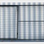 PVC Coated Walkthrough Panel Gate 9.5′ x 6′ (Stocked Product), $119