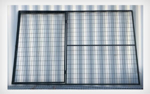 PVC Coated Walkthrough Panel Gate 9.5′ x 6′ (Stocked Product), $129