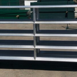 Light Duty Galvanized Panel 9.5′ x 5′ (Stocked Product), $99
