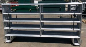 Light Duty Galvanized Panel 9.5′ x 5′ (Stocked Product), $99
