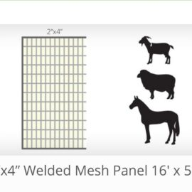 16′ x 52″ 2by4″ Gap Welded Panels (Ordered Product), $80