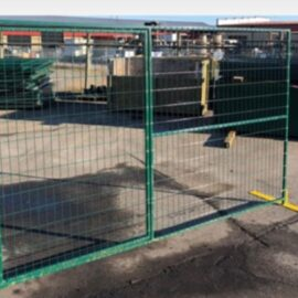 Heavy Duty 9'6″ x 6′  Mesh Panel and Panel Gate (Stocked Products), $149 & $175