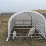 Sheep and Goat Shelter (Ordered Product), $579