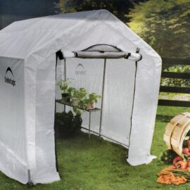 Shelter Logic Greenhouse    6′ x 8′ x 6.5′ (Stocked Product), $199