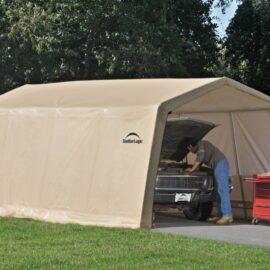 Shelter Logic 20′ by 10′ Garage / Car Port (Stocked Product), $409